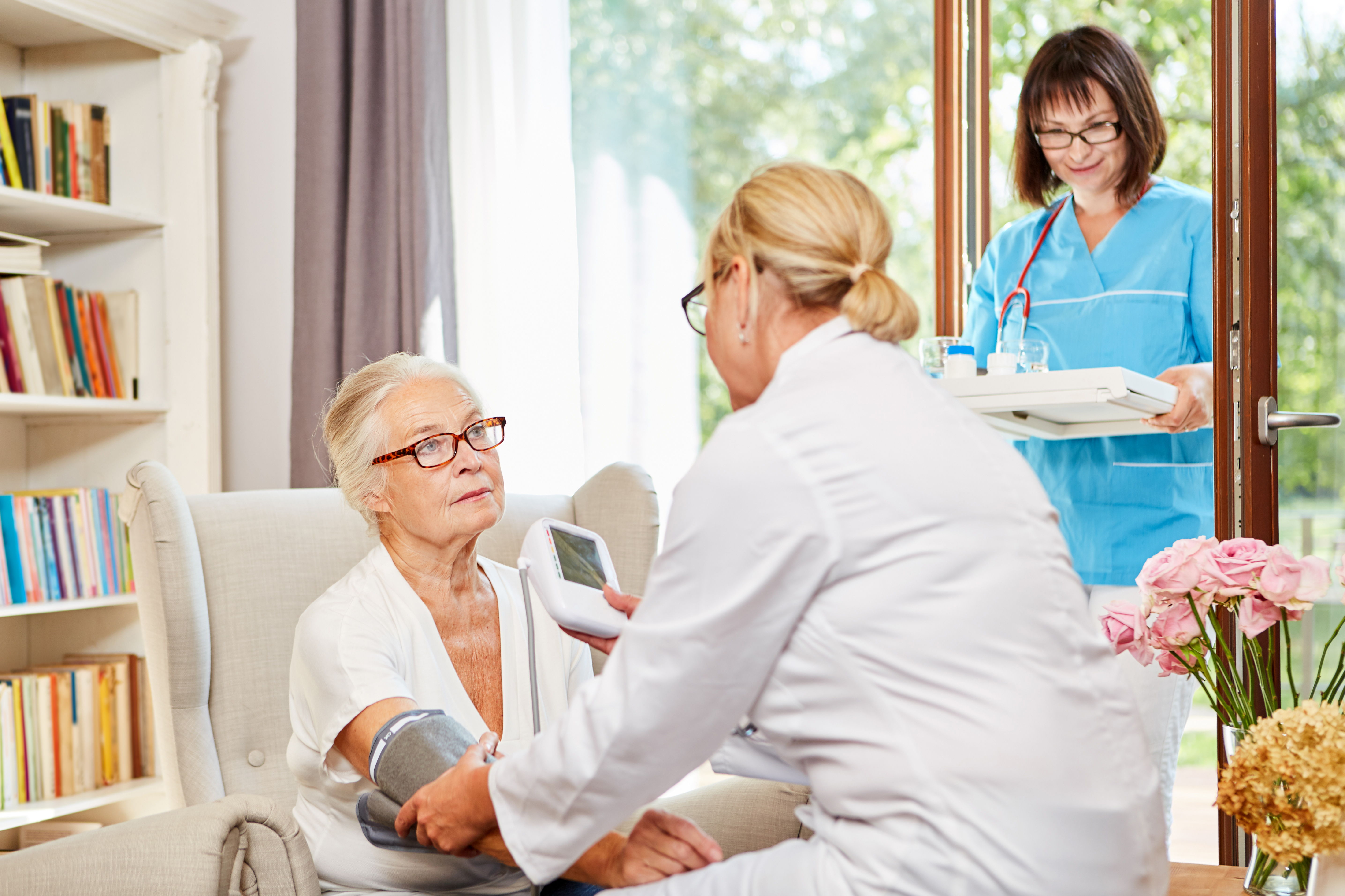 health care at assisted living apartments
